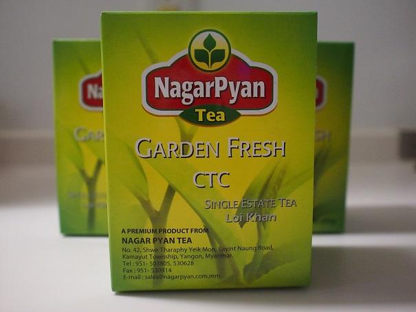 ミャンマー紅茶のイメージ